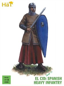 HAT 28001 - 28 mm - El Cid Spanish Heavy Infantry