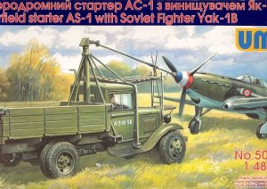 UNIMODELS 505 - 1:48 Airfield starter AS-1 with Soviet fighter Yak-1B