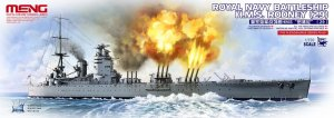 MENG MODEL PS001 - 1:700 HMS Rodney (29) Royal Navy Battleship
