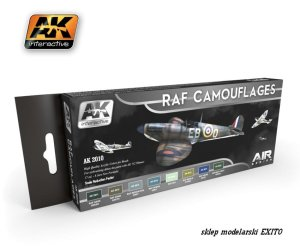 AK INTERACTIVE 2010 - RAF Camouflages - Air Series