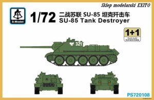 S-MODEL PS720108 - 1:72 SU-85 Tank Destroyer - 2 modele
