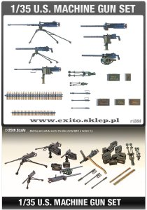 ACADEMY 13262 - 1:35 U.S. Machine Gun Set