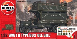 AIRFIX 50163 - 1:32 WWI B Type Bus Ole Bill