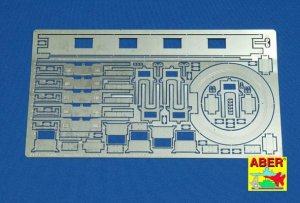 ABER 16009 - 1:16 Tiger I Ausf.E Early version Commanders coupola interior