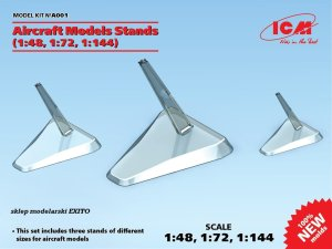 ICM A001 - 1:48, 1:72, 1:144 Aircraft Models Stands