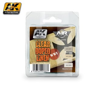 AK INTERACTIVE 2290 - WWI Clear Doped Linen - Air Series