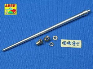 ABER 35L-004n  - 1:35 German 7,5 cm gun barrel with muzzle brake for Panther Ausf.D/A & early G