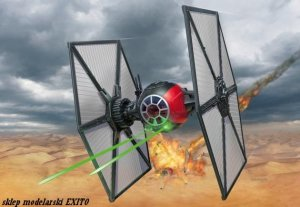 REVELL 06693 - 1:35 First Order Special Forces TIE Fighter - easy kit