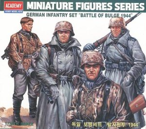 ACADEMY 13257 - 1:35 German inf.set Battle of Bulge 44