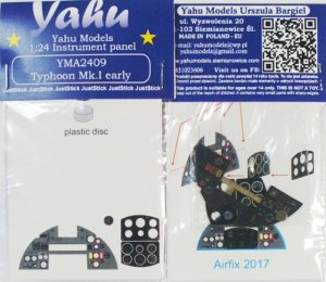 YAHU YMA2409 - 1:24 Typhoon Mk.I early - Instrument Panel