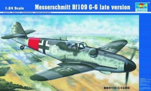 TRUMPETER 02408 - 1:24 Messerschmitt Bf109 G-6 late version