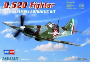 HOBBY BOSS 80237 - 1:72 French D.520 Fighter