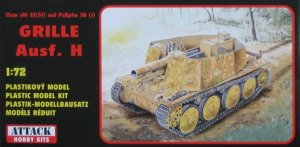 ATTACK 72801 - 1:72 Grille Ausf. H