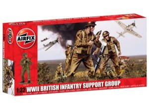 AIRFIX 04710 - 1:32 British Infantry Support Set