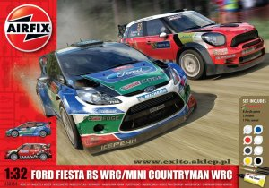 AIRFIX 50154 - 1:32 Ford Fiesta RS WRC & Mini Countryman WRC