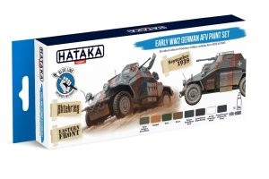 HATAKA BS88 - Early WW2 German AFV paint set