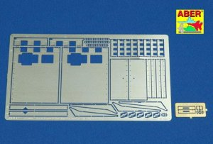 ABER 16005 - 1:16 Tiger I Ausf.E Early/Late version Rear fenders