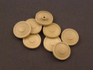PANZERART 35003 - 1:35 Burn out Wheels for Pz38 /Marder III /Hetzer