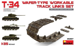 MINIART 35207 - 1:35 T-34 Wafer-type workable Track Links Set