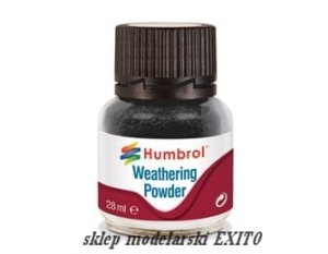 HUMBROL AV0001 - Pigment Weathering Powder Black  28 ml