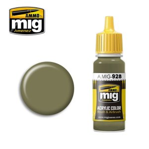 AMMO MIG 928 - Olive Drab  High Lights - farba akrylowa 17ml