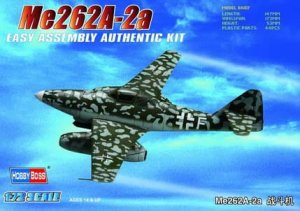 HOBBY BOSS 80248 - 1:72 Germany Me262A-2a Fighter