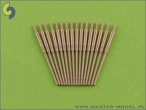 MASTER SM-350-004 - 1:350 German 10,5cm (4.1in) SKC/33 barrels - late type (16pcs)