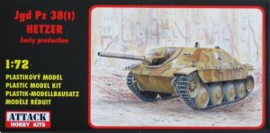 ATTACK 72830 - 1:72 Jgd Pz 38(t) Hetzer early production
