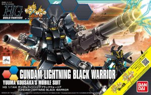 BANDAI 0221286 - 1:144 Gundam Lightning Black Warrior - HG
