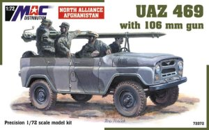 MAC 72072 - 1:72 UAZ 469 with 106 mm gun