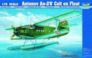 TRUMPETER 01606 - 1:72 AN-2M Colt On Float