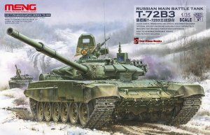 MENG MODEL TS028 - 1:35 T-72B3 Russian Main Battle Tank
