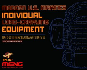 MENG MODEL SPS027 - 1:35 Modern U.S. Marines Individual Load-carrying Equipment