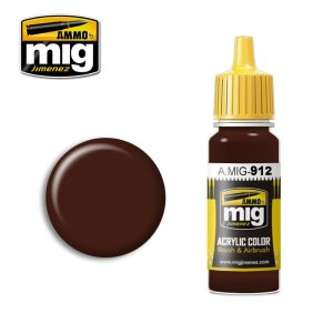 AMMO MIG 912 - Red Brown Shadow - farba akrylowa 17ml