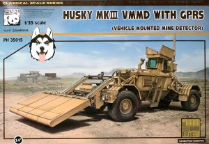 PANDA 35015 - 1:35 Husky Mk.III VMMD with GPRS (Vehicle Mounted Mine Detector)