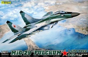 GREAT WALL HOBBY 4811 - 1:48 MiG-29 9-12 Fulcrum - Late Type