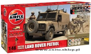 AIRFIX 50121 - 1:48 British Forces Land Rover Patrol - Afghanistan (Gift Set)