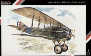 SPECIAL HOBBY 48010 - 1:48 SPAD VII C1 RFC and US Air service