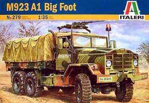 ITALERI 0279 - 1:35 M-923 A1 Big Foot