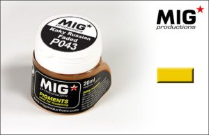 MIG P043 - Pigment Kaky Russian Faded