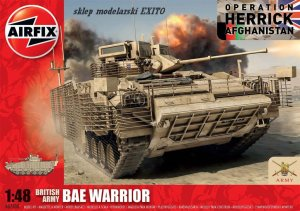 AIRFIX 07300 - 1:48 BAE Warrior - British Army