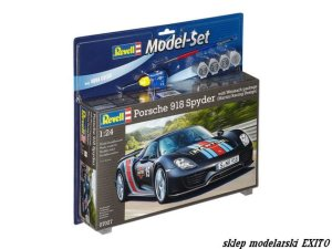 REVELL 67027 - 1:24 Porsche 918 Spyder with Weissach package