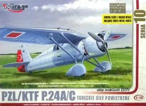 MIRAGE 481005 - 1:48 PZL / KTF P.24c Turkish
