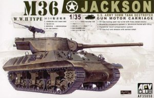 AFV CLUB 35058 - 1:35 M-36 Tank Destroyer