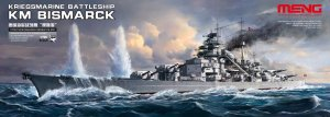 MENG MODEL PS003 - 1:700 Kriegsmarine Battleship Bismarck