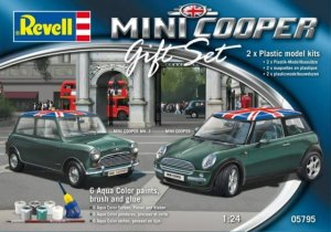 REVELL 05795 - 1:24 Mini Cooper Set