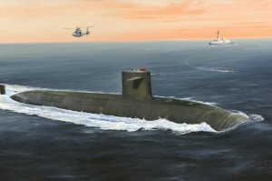 HOBBY BOSS 83519 - 1:350 French Navy Le Triomphant SSBN