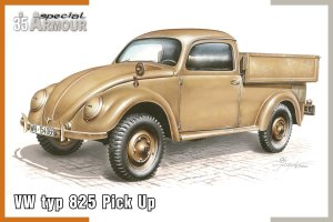 SPECIAL HOBBY A35007 - 1:35 VW type 825 Pick Up