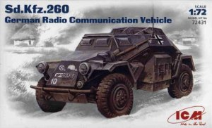 ICM 72431 - 1:72 Sd.Kfz.260, German Radio Communication Vehicle