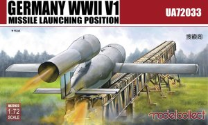MODELCOLLECT UA72033 - 1:72 Germany WWII V1 Missile launching position